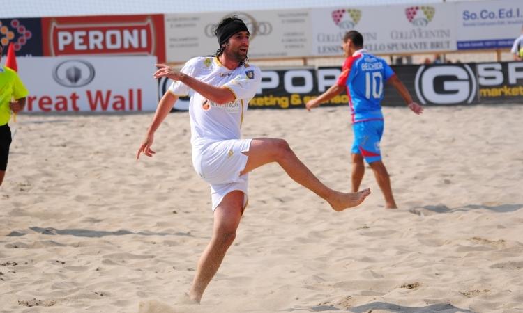La conduzione tecnica della Lazio Beach Soccer affidata a Roberto Pasquali