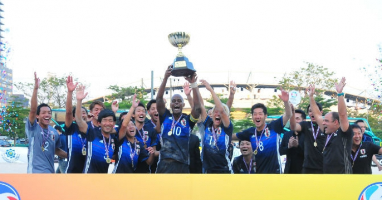 Thailand 5s Beach Soccer Championship 2017