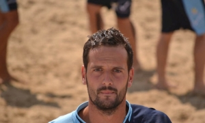 Un pivot italiano per le aquile del beach soccer