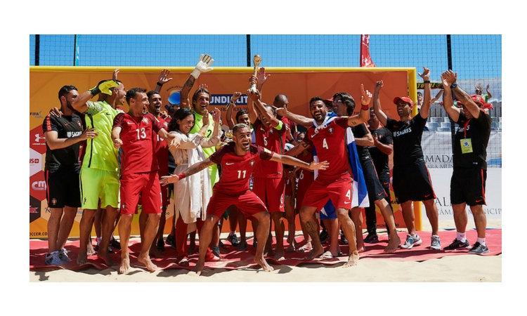 Il Portogallo Campione ad Almada 2018