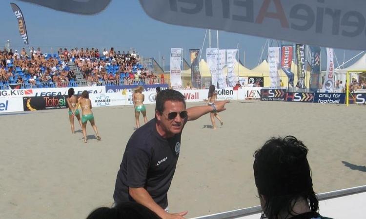 La LAZIO Beach Soccer riparte da Mr. Luca Della Negra