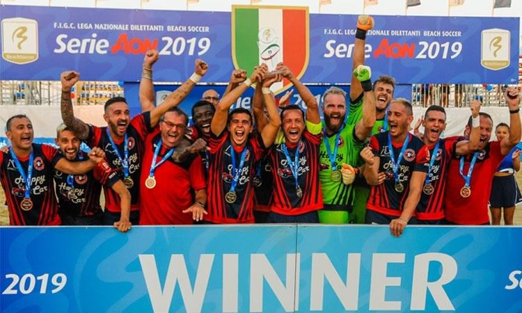 Serie Aon, Happy Car Samb è campione d'Italia