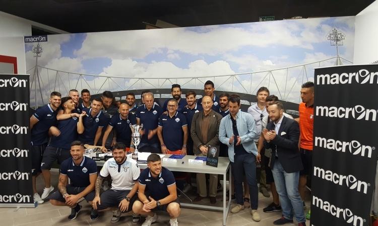 Presentazione ufficiale della Lazio Beach Soccer