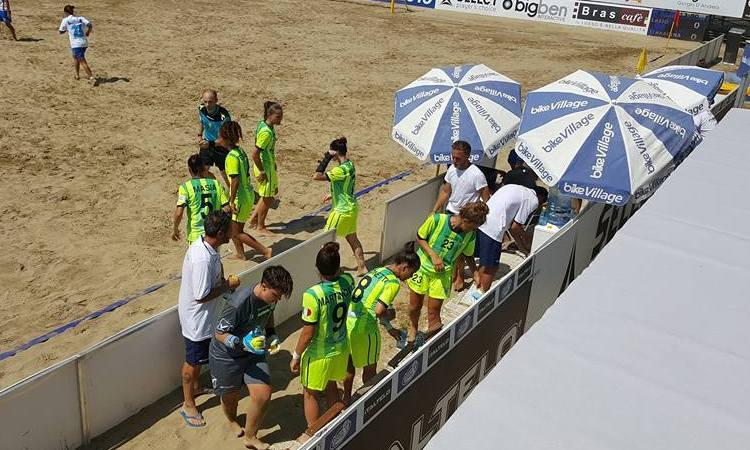 """La Lazio Beach Soccer """"rosa"""" non arriva in finale..."""