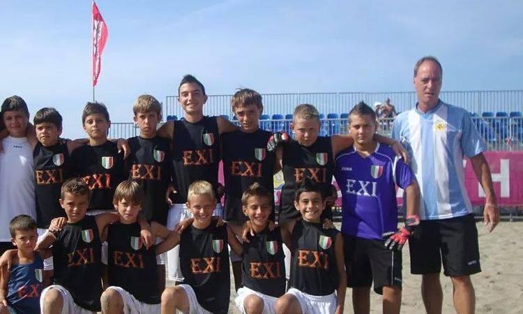 Mr. Alfio Lazzari nello staff della Lazio Beach Soccer
