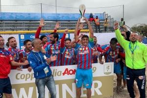 Il Catania conquista la Coppa Italia AON