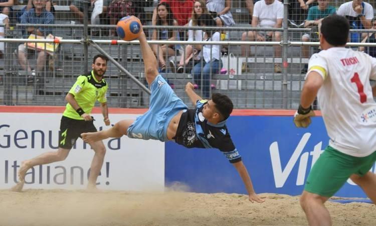 Alla Ovidio dalla Lazio Beach Soccer alla Nazionale