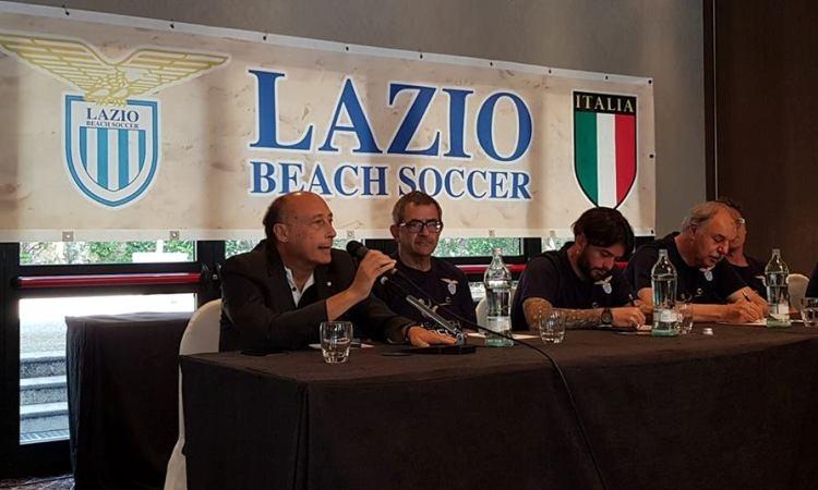 Lazio Beach Soccer presentata la maglia e la squadra