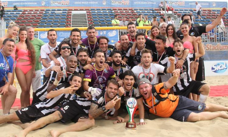 Viareggio conquista la coccarda tricolore per la 2^ volta nella sua storia