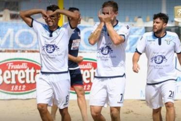 """Campionato Serie """"A"""" 2018 - Lazio B.S. vs Viareggio B.S."""